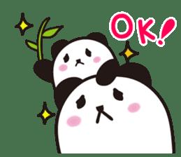 marukko panda sticker #117980