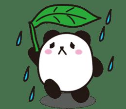marukko panda sticker #117987