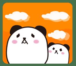 marukko panda sticker #117994