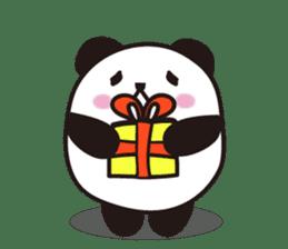 marukko panda sticker #117996