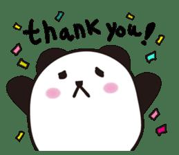marukko panda sticker #118002