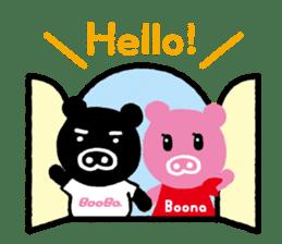 BooBo&Boona sticker #118193