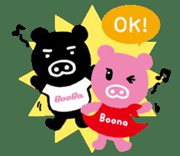 BooBo&Boona sticker #118195