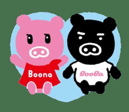 BooBo&Boona sticker #118199