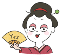 Maiko the Geisha (on probation) sticker #118406