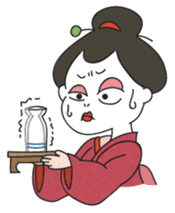Maiko the Geisha (on probation) sticker #118420