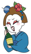 Maiko the Geisha (on probation) sticker #118434