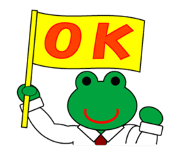 Frog Worker Vol.2 sticker #118644