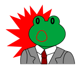 Frog Worker Vol.2 sticker #118652