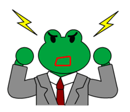 Frog Worker Vol.2 sticker #118654