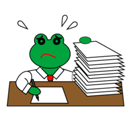 Frog Worker Vol.2 sticker #118656