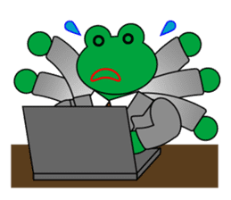 Frog Worker Vol.2 sticker #118657