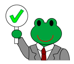Frog Worker Vol.2 sticker #118658