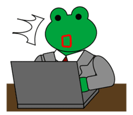 Frog Worker Vol.2 sticker #118664