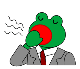 Frog Worker Vol.2 sticker #118666