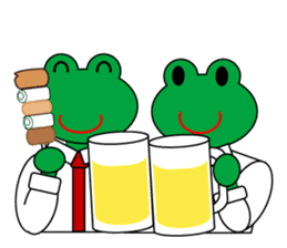 Frog Worker Vol.2 sticker #118672