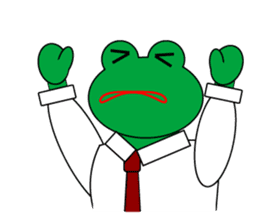 Frog Worker Vol.2 sticker #118673