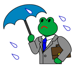 Frog Worker Vol.2 sticker #118675
