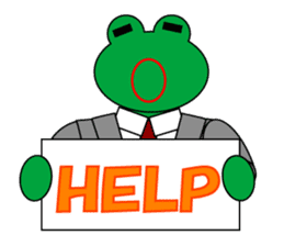 Frog Worker Vol.2 sticker #118680