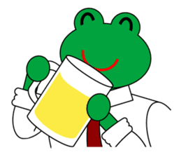 Frog Worker Vol.2 sticker #118682