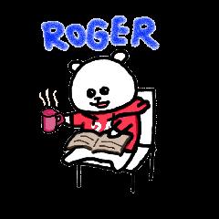 Roger the polar bear