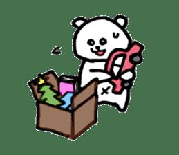 Roger the polar bear sticker #118964