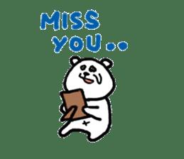 Roger the polar bear sticker #118966