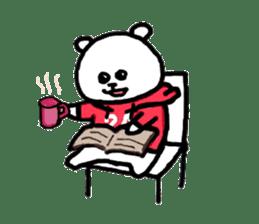 Roger the polar bear sticker #118969