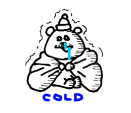 Roger the polar bear sticker #118971