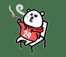 Roger the polar bear sticker #118975