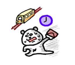 Roger the polar bear sticker #118976
