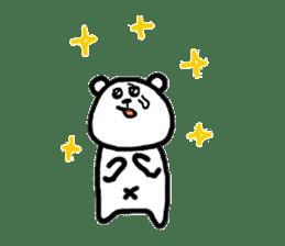 Roger the polar bear sticker #118977