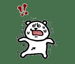 Roger the polar bear sticker #118979