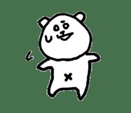 Roger the polar bear sticker #118987