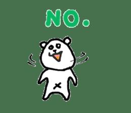 Roger the polar bear sticker #118993
