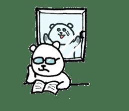 Roger the polar bear sticker #118996