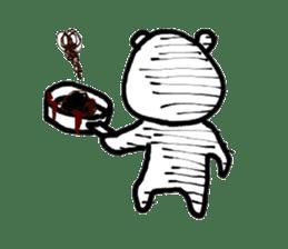 Roger the polar bear sticker #118997