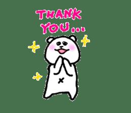 Roger the polar bear sticker #119001