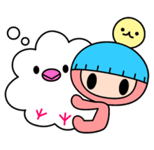 Kawaii! Arushiko-chan sticker #119163