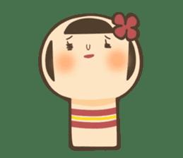 kokeshi sticker #119168