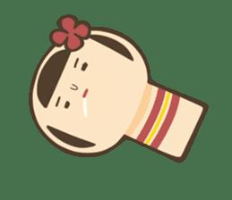 kokeshi sticker #119174
