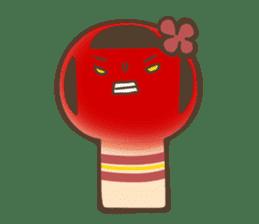 kokeshi sticker #119175