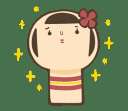 kokeshi sticker #119176