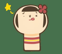 kokeshi sticker #119177
