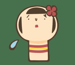 kokeshi sticker #119178