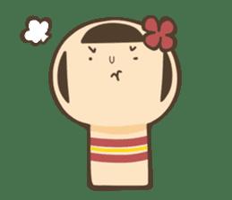 kokeshi sticker #119179