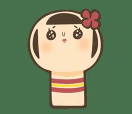 kokeshi sticker #119180