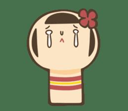 kokeshi sticker #119181