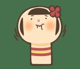 kokeshi sticker #119185