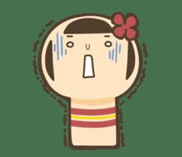 kokeshi sticker #119186